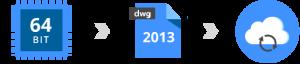 Bricscad V13.2 64-Bit DWG 2013