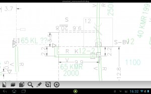 Bricscad DWG in Android etools mobile