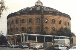 Gasometer in Leipzig zum Thema GIS Gas