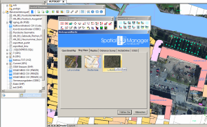 Luftbild in Spatial Manager