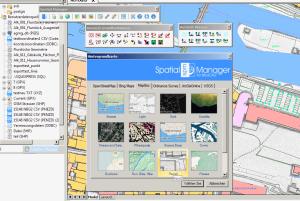 MapBox Hintergrundkarte