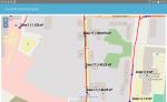 Android App AutoGIS Hydrantenplan für die Feuerwehr