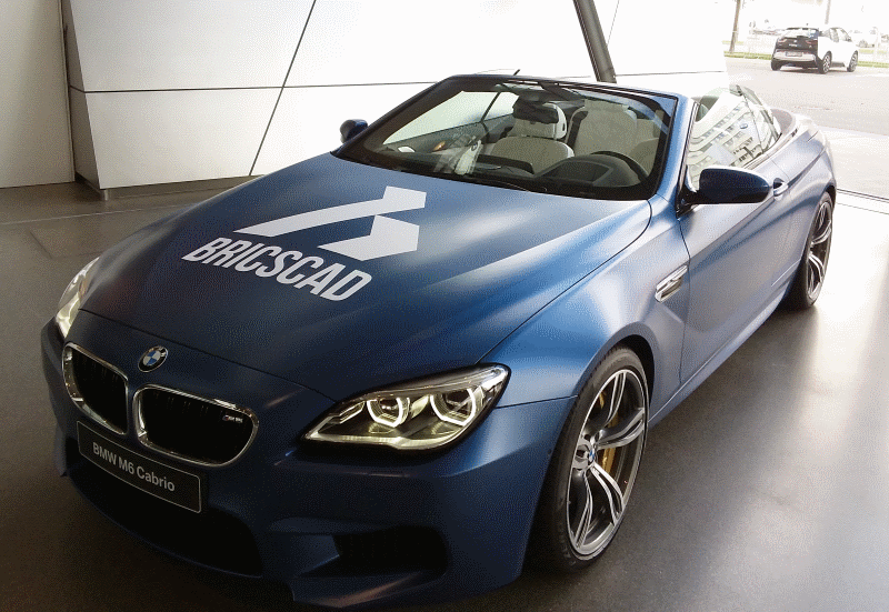 BricsCAD V17 BMW M6