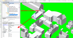 Screenshot: Import LOD2 in BricsCAD DWG