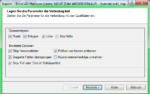 Screenshot: GML Optionen