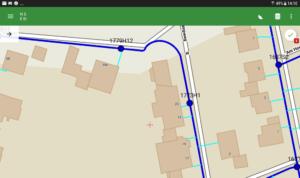 Im Workshop von Bricscad nach Android mit Spatial Manager exportiert