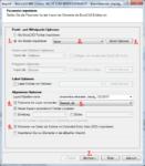 Spatial Manager Optionen für die Konvertierung SHP zu DWG